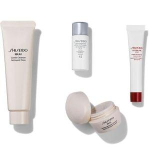 BNIB LE Shiseido Stronger Skin Starts Here 4pc Col